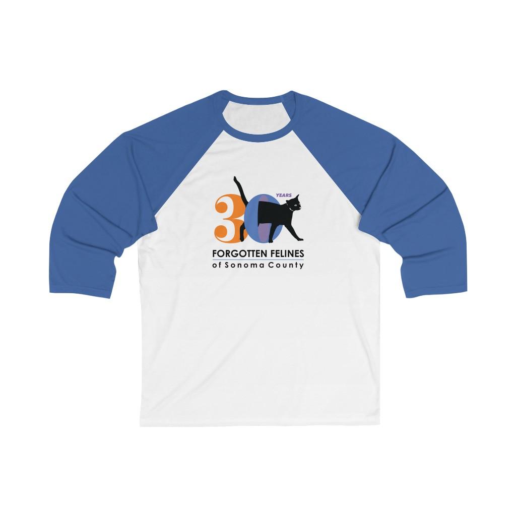 30 Year Anniversary Unisex 3/4 Sleeve Baseball Tee