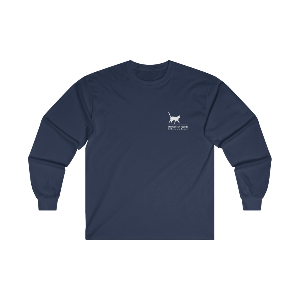 Dark Logo Ultra Cotton Long Sleeve Tee – 12 Colors Available