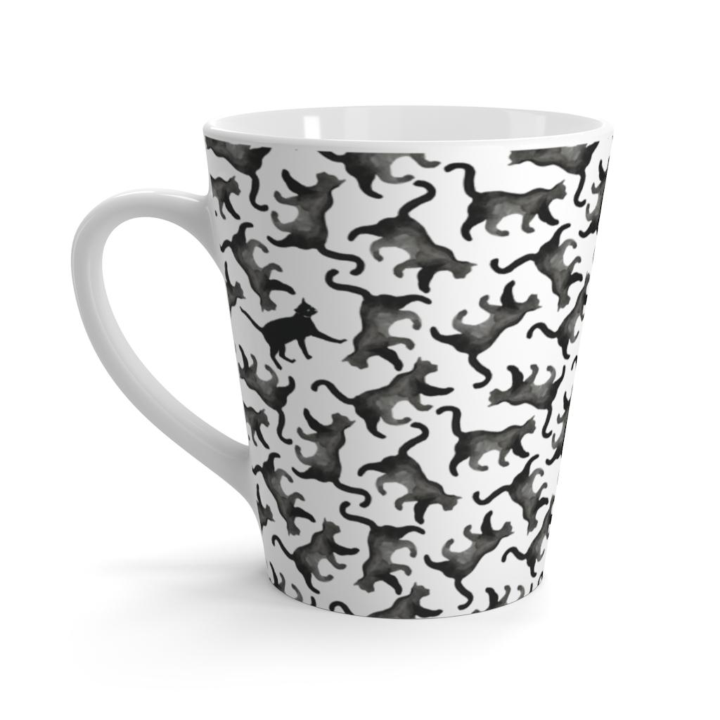 Hidden Cat Latte Mug