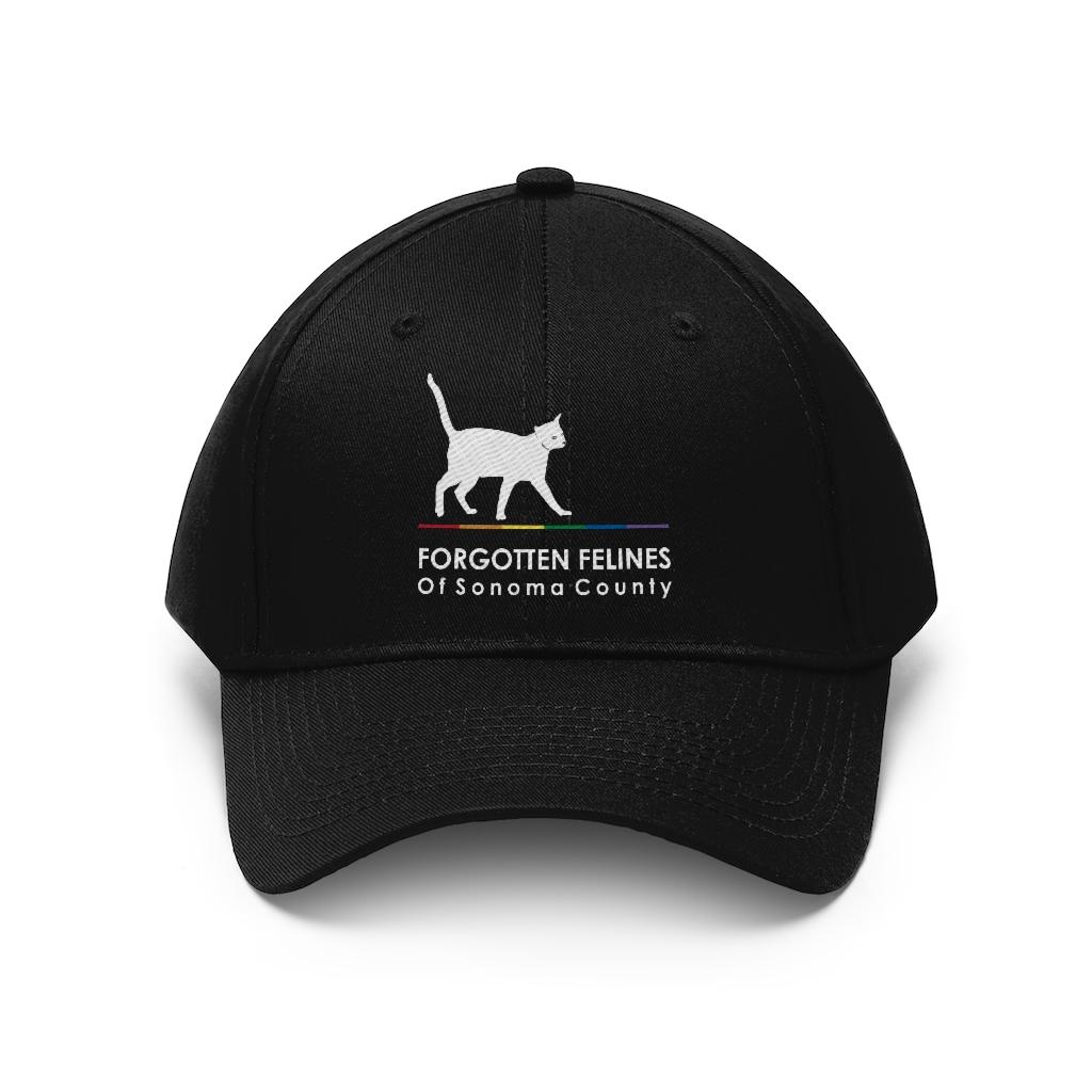 Pride – Gender Neutral Black Twill Hat