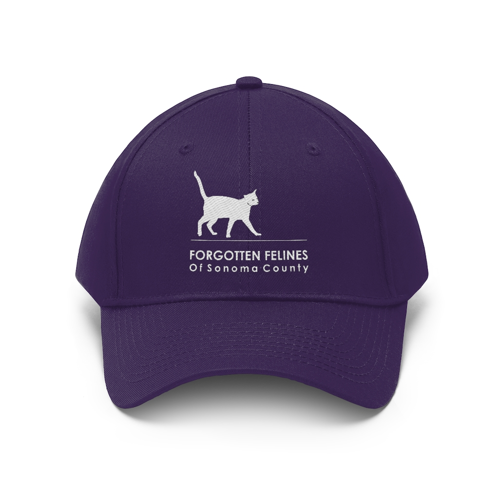 Logo Unisex Twill Hat – 8 Colors Available