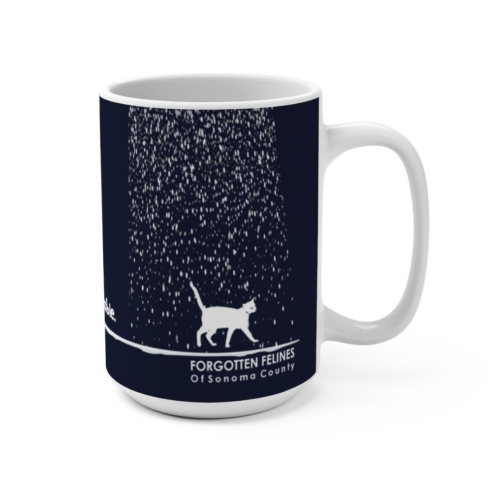 Forgotten Felines Holiday Mug